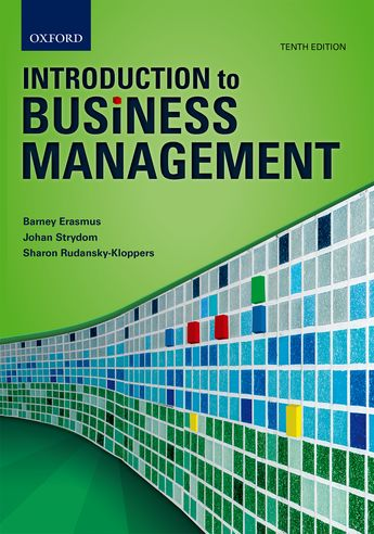 introduction to business management Introduction to business management explores the business environment in which we operate it explains management principles such as planning, organising, leading, and controlling, and also examines in-depth the functional areas of human resources, marketing, public relations, financialmanagement, operations management, and.