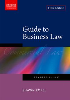 Oxford university press law of commerce in south africa 2e guide to business law 5e fandeluxe Gallery