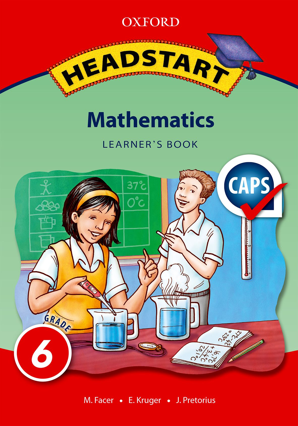 Oxford Headstart Mathematics Grade 6 LB (Approved)